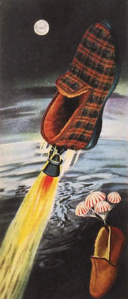 Space Pantoufle